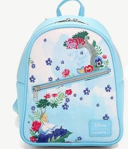 NWT Loungefly Alice in Wonderland Mini Backpack